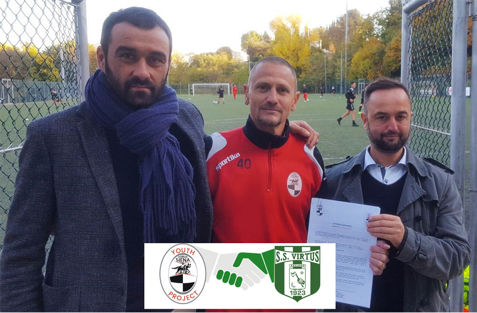 affiliazione Virtus Asciano e Youth Project Robur Siena